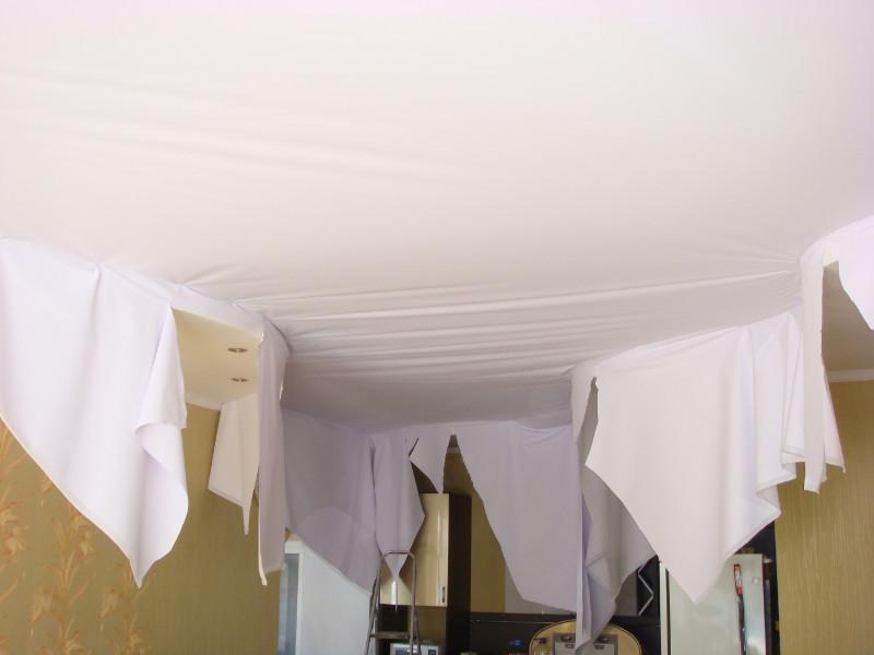 Натяжные потолки в самаре фото