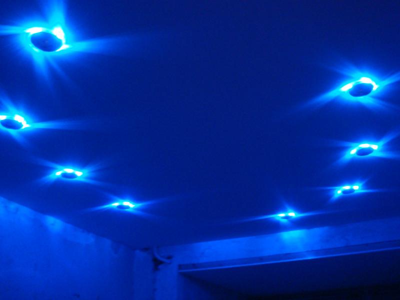 точечные светильники для натяжных потолков тольятти, самара